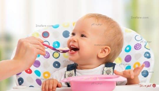 غذای کودک زیر یک سال