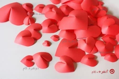 قلب های سه بعدی