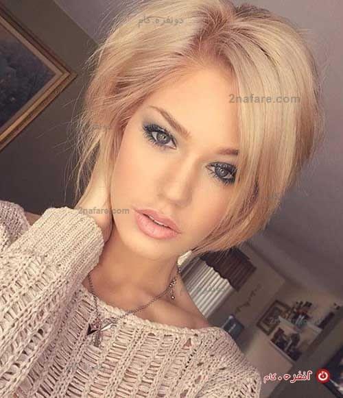 مدل برای موهای کوتاه