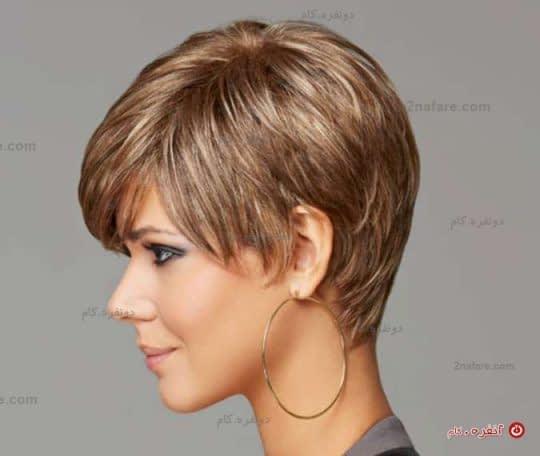 مدل کوتاه مو