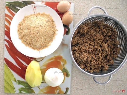 مواد لازم برای تهیه کتلت سویا