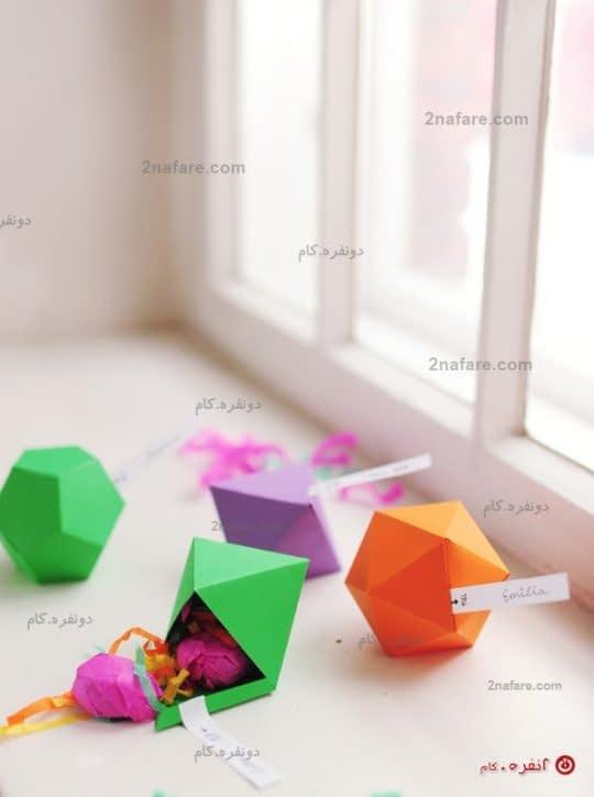 جعبه کادو های هندسی