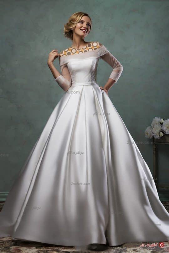 لباس عروس جدید شیک و ساده