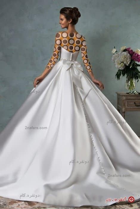 لباس عروس شیک و ساده