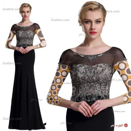 لباس مجلسی زیبا و بلند