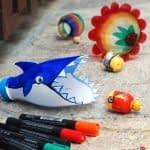ساخت اسباب بازی نهنگ و ماهی