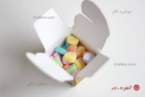 ساخت جعبه کادوی قلبی