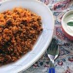 طرز تهیه لوبیا پلو با گوشت چرخکرده