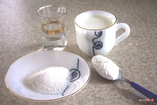 مواد لازم برای تهیه فرنی