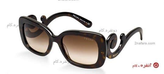 عینک مربعی شکل