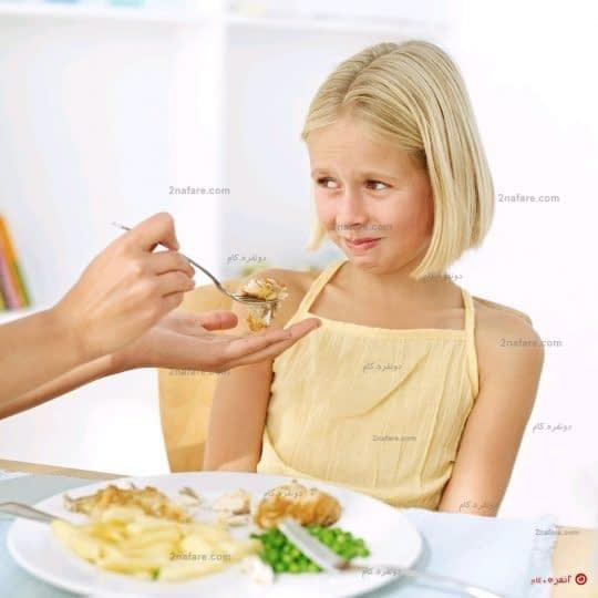 علل کاهش اشتهای کودک