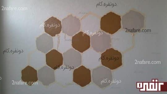 مراحل رنگ دیوار