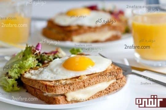 صبحانه ی کامل بخوریم