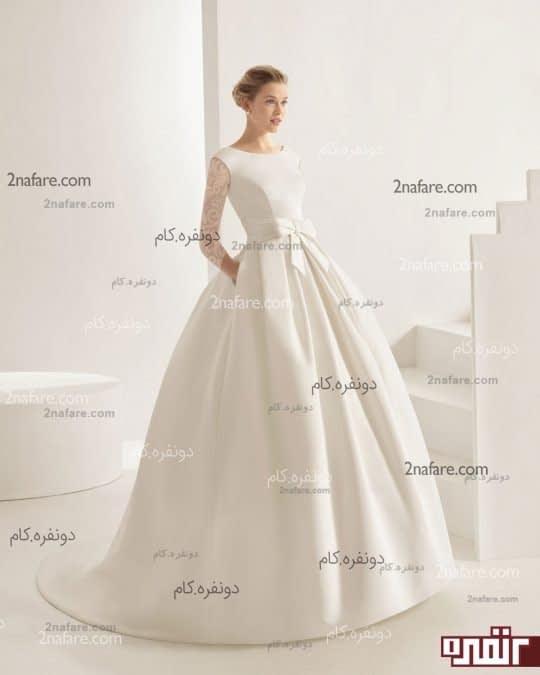 لباس عروس جدید پشت دانتل