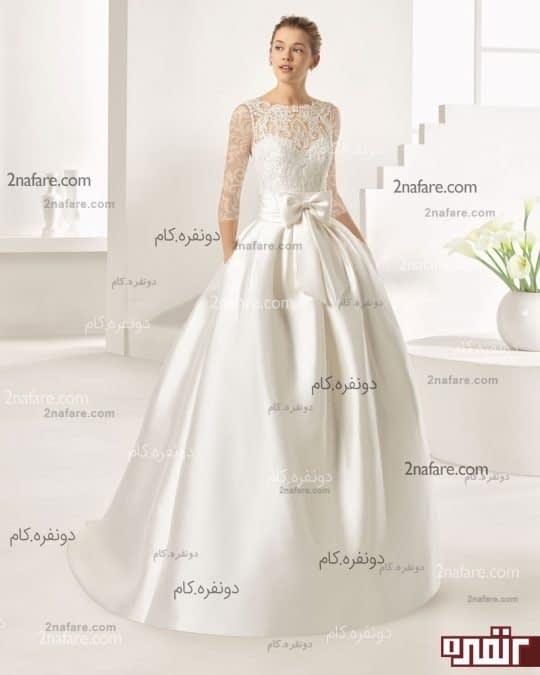 لباس عروس پاپیون مدل جدید