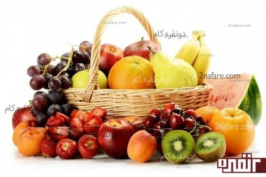 مصرف میوه های شیرین و آبدار برای صبحانه