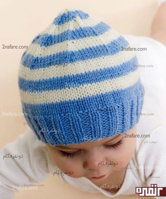کلاه بافت پسرانه زیبا