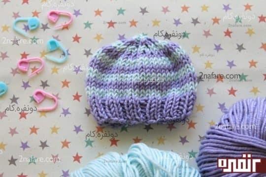 کلاه زیبای نوزادی