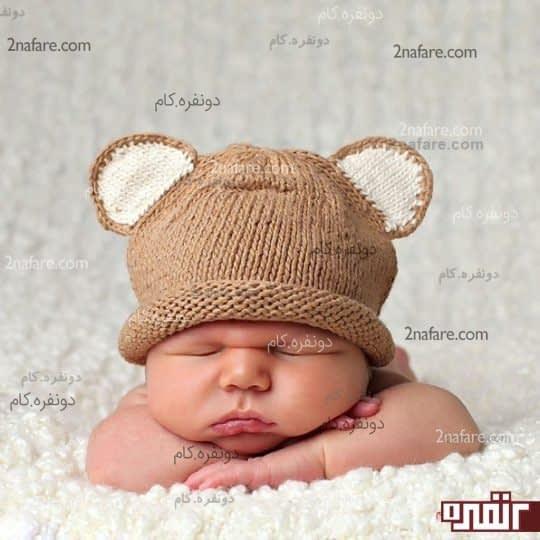 کلاه نوزاد پسرونه