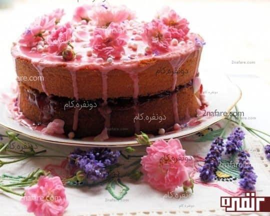 کیک اسفنجی ویکتوریا