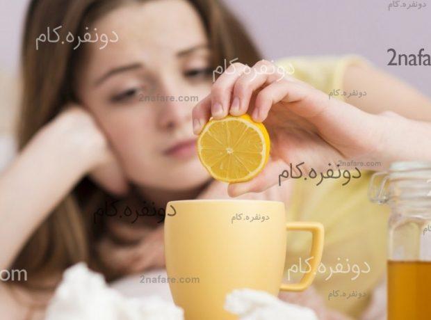برای سرماخوردگی شربت عسل و آبلیمو بنوشید