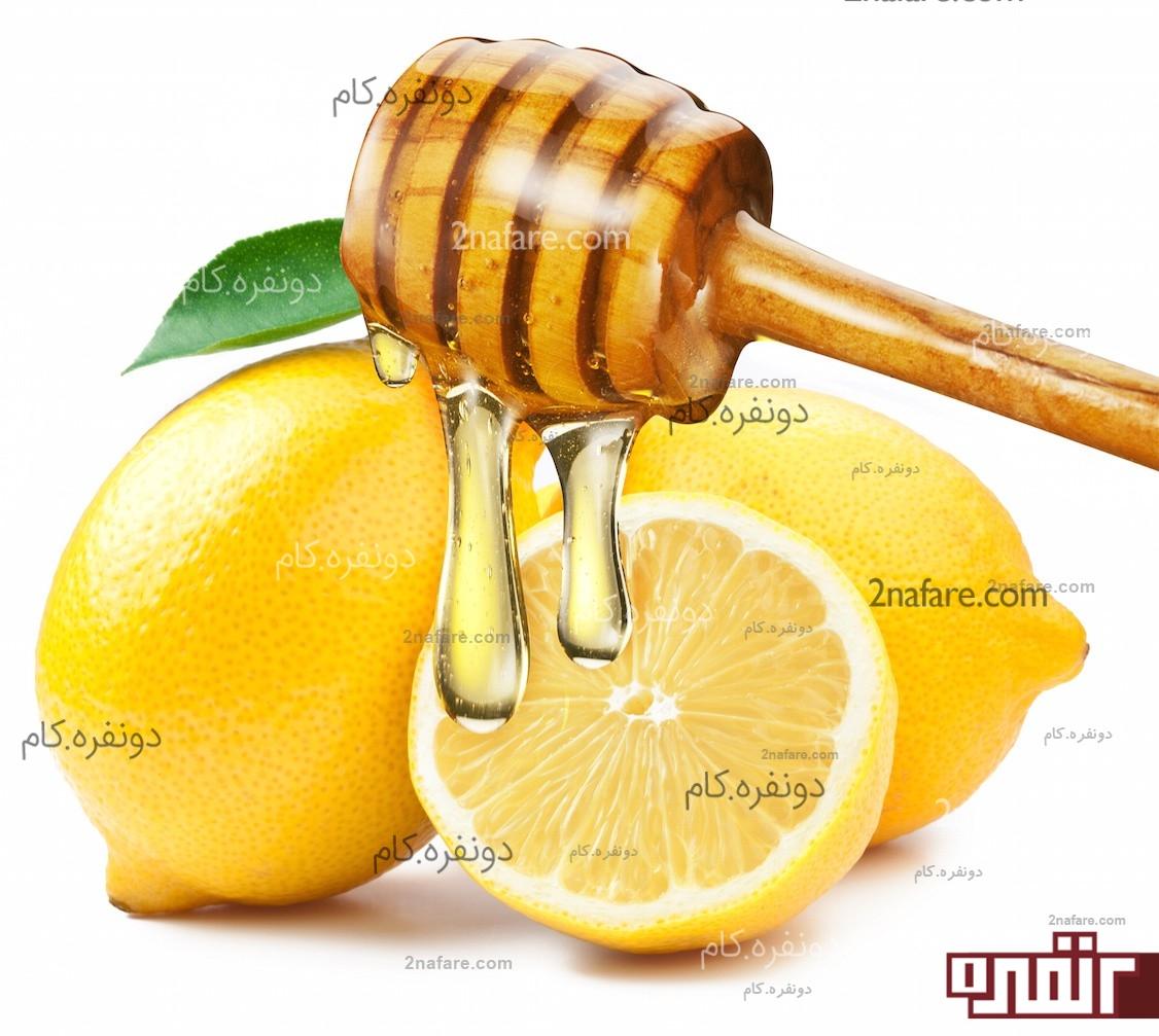 تهیه شربت عسل و لیمو