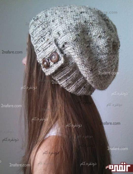 مدل کلاه بافت