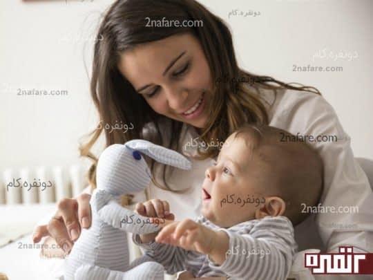 بازی با کودک در طول روز