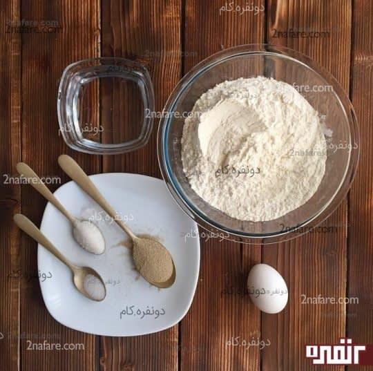 مواد لازم برای تهیه نان خانگی