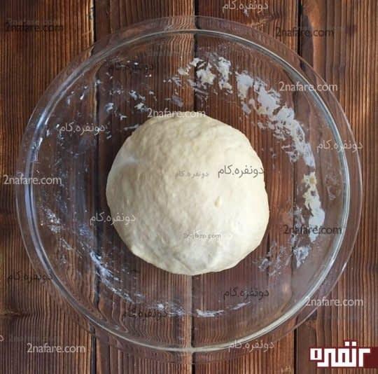 مرحله ی ور آمدن خمیر