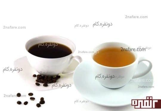 نوشیدن چای و قهوه بدون کافئین