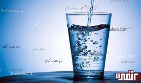 نوشیدن آب کافی