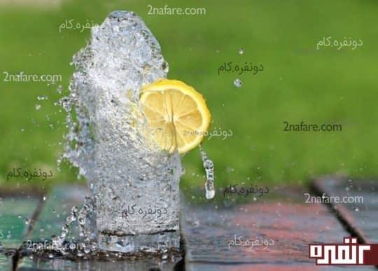 سم زدایی توسط نوشیدن آب