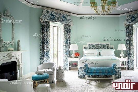 انتخاب رنگ در اتاق خواب