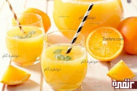 سرماخوردگی و آب میوه طبیعی