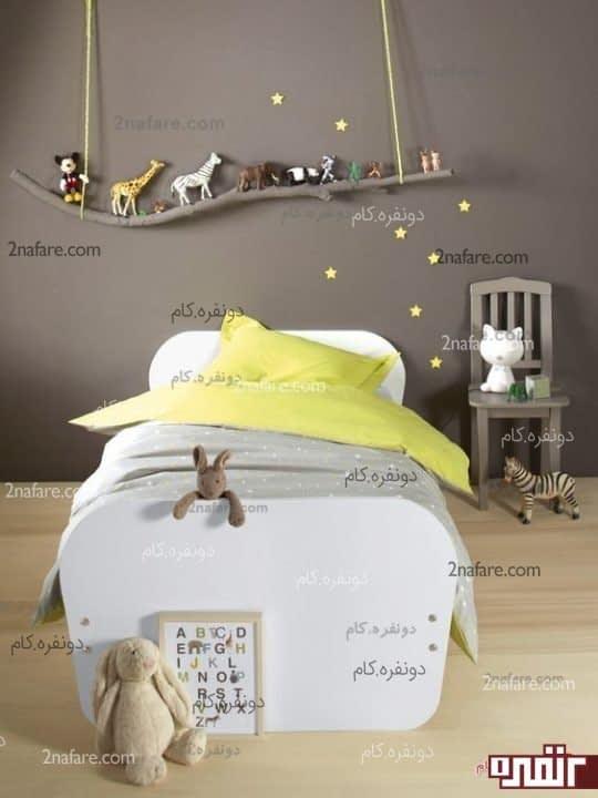 فضای خواب اتاق پسر بچه ها