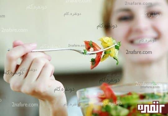 وعده های غذایی را فراموش نکنید