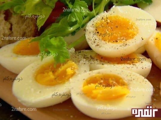 تخم مرغ و رشد بهتر مو