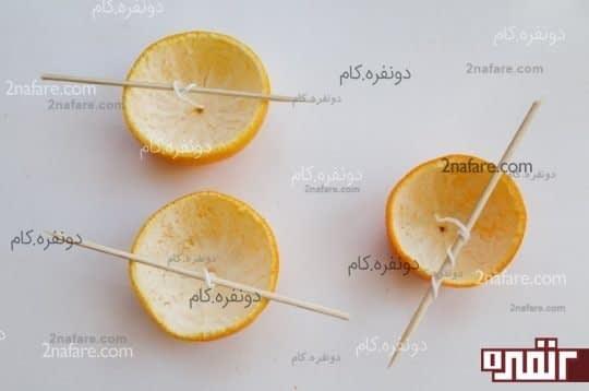 شمع نارنگی
