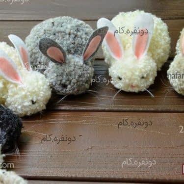 خرگوش های کاموایی