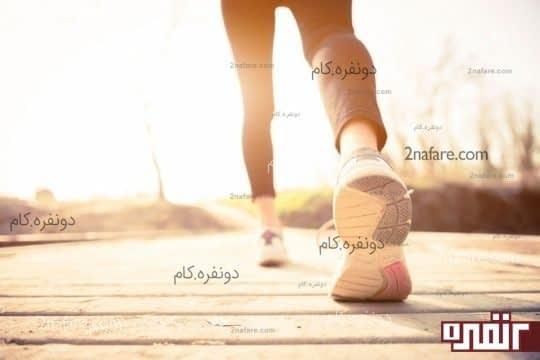 پیاده روی و کاهش استرس