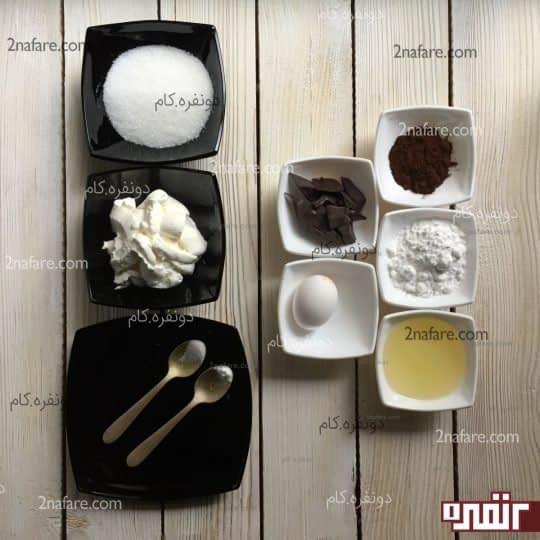 مواد لازم برای تهیه سس کارامل و سس شکلات