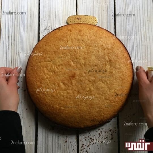 برش کیک با نخ
