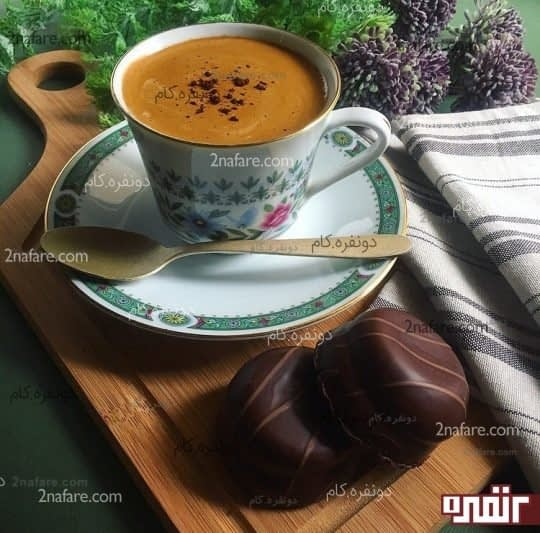 قهوه فوری غلیظ و خامه ای خونگی