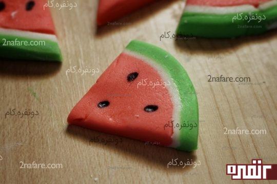 هندوانه فوندانتی آماده