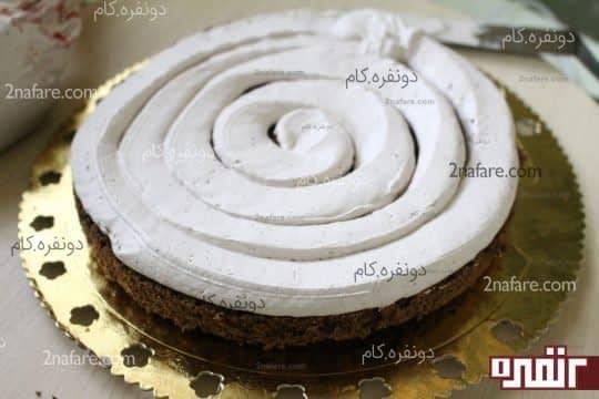 خامخ کشی سطح کیک