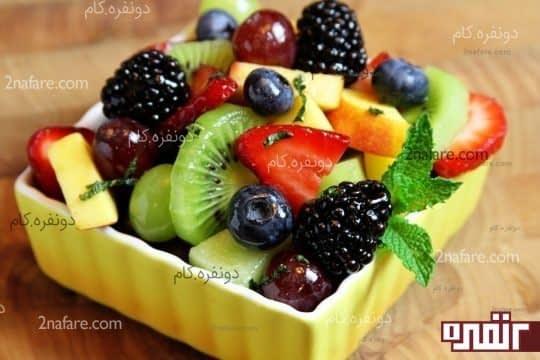 جایگزین کردن چیپس، پفک و اسنک ها با میوه تازه