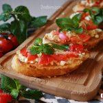 طرز تهیه بروسکتا یا بروشتا، پیشغذای ایتالیایی