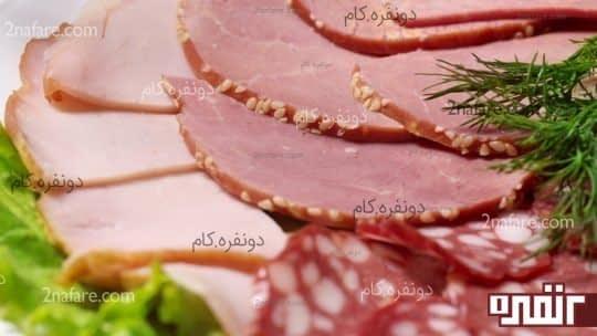 کاهش مصرف گوشت