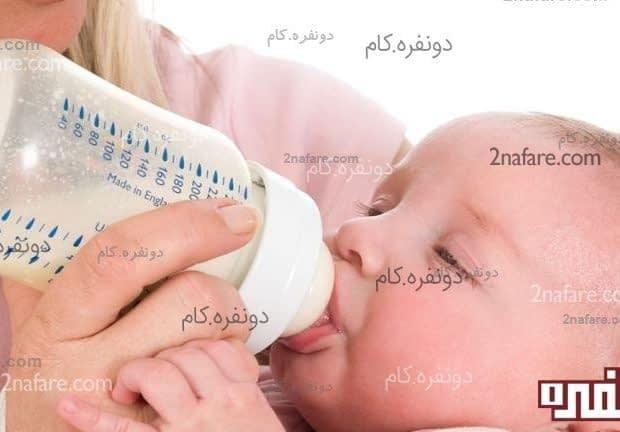 قطع وعده ی شبانگاهی شیر نوزاد